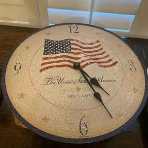 Howard Miller The Old Glory Clock